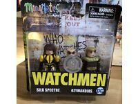 DC Watchmen Minimates Wave 1 The Comedian /& Nite Owl 2-Pack #smar18-34