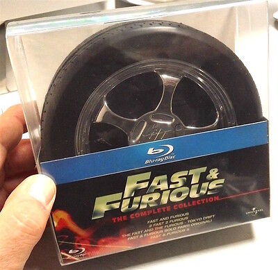 Fast & Furious Ruota Collection (Limited Edition ITALIA) 5 Bluray FUORI CATALOGO