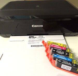 Edible Image Printer IP7250 Kit Canon, Ink Cartridges, EPS Icing Sheets