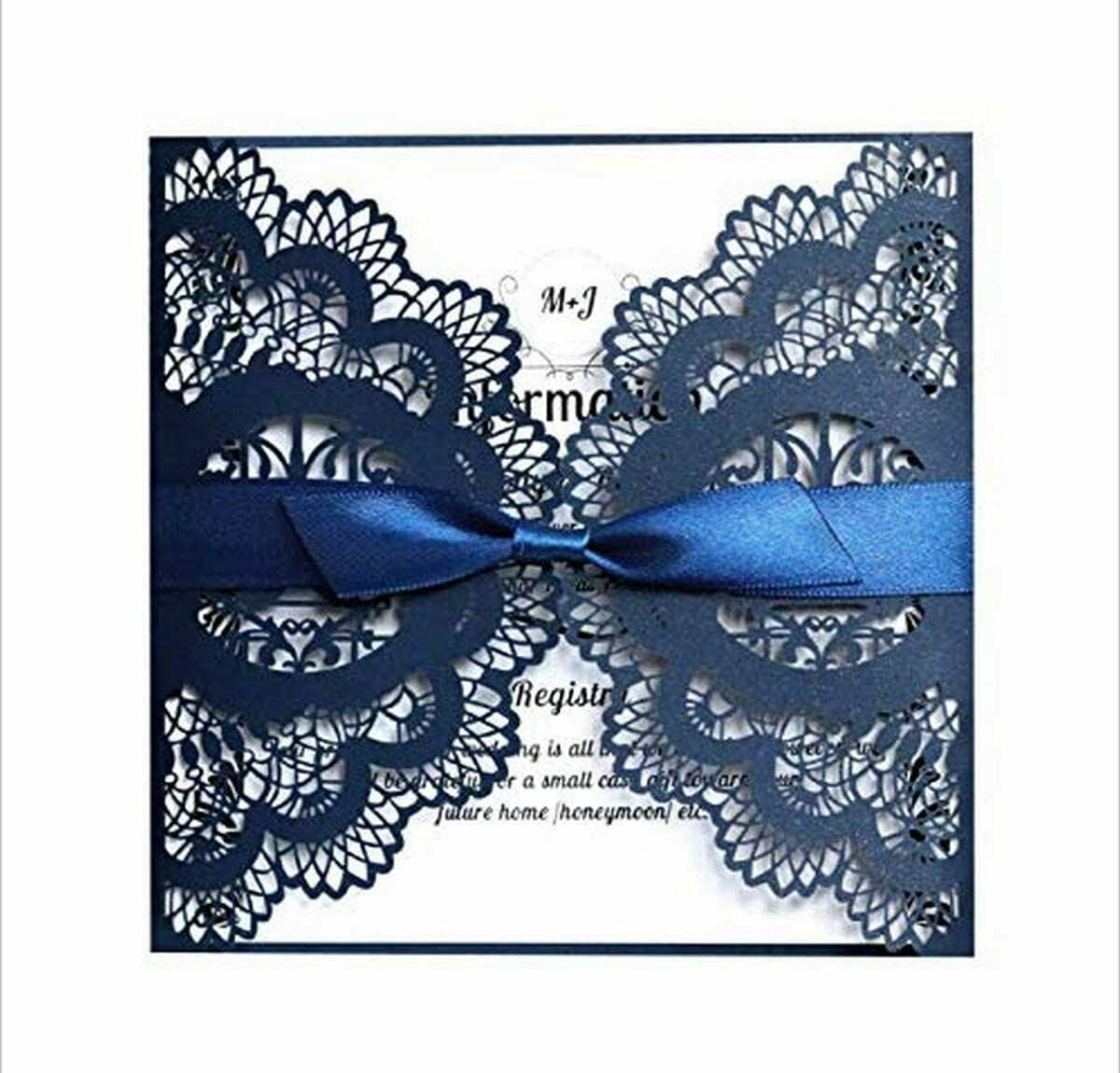 Exquisite Opening Greeting Card Christmas Party Invitation Card Wedding Luxury Greeting Cards & Invitations