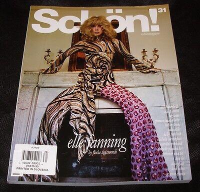 Schlon Magazine Elle Fanning Juliette Lewis Big Sean #31