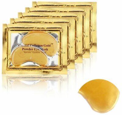 Collagen Gold Eye Mask Dark Circle Gel Patches Anti-Wrinkle Treatment 8 Pairs