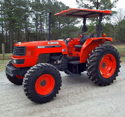 960 Page Kubota Tractor Service Manual M6800 M6800s M8200 M9000 M 9000 8200 6800
