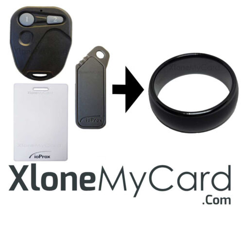 Copy Your Kantech ioProx Remote, Key Card or Key Fob to an RFID Smart Ring