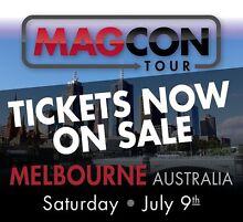 VIP Magcon Tour Ticket x1 Daylesford Hepburn Area Preview