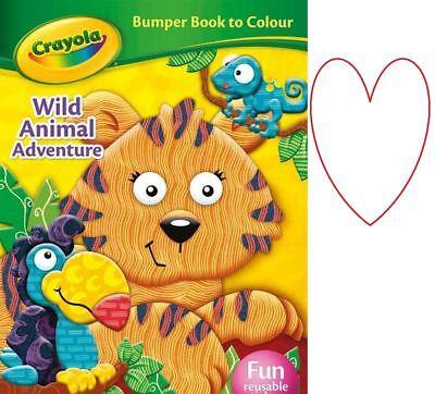 Crayola Bumper Buch A4 Sticker Handwerk Spaß Aktivität Bücher Geschenk