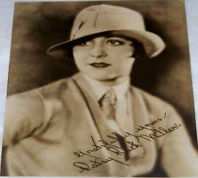 Antique Studio Photograph of Patsy Ruth Miller Early Movie Actress