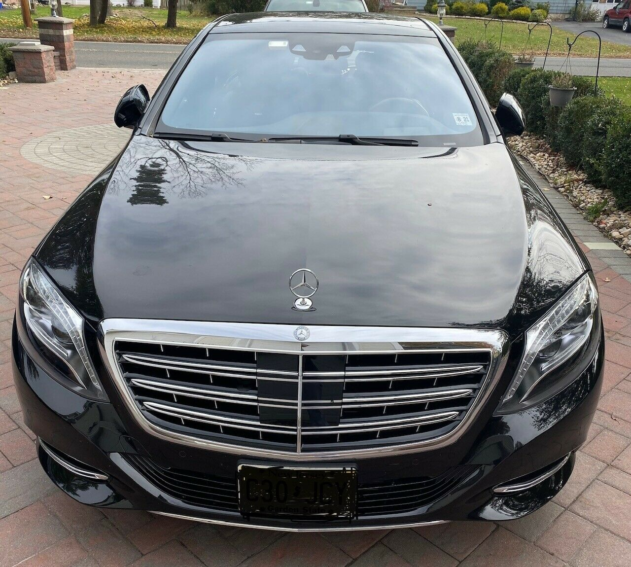 MINT 2016 MERCEDES S600 MAYBACH 10,300 MILES BLACK/BLACK