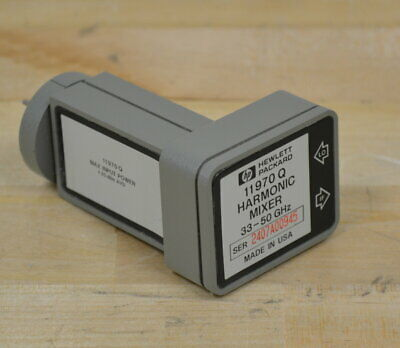 Hp Agilent 11970q Waveguide Harmonic Mixer Wr33 33-50ghz Guaranteed 2 Available