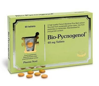 Pharma Nord Bio Pycnogenol Corteccia Di Pino Febbre Da Fieno 60 Compresse