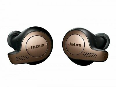 Jabra Elite 65t Wireless In-ear Headphones Bluetooth Brown Color Genuine New Jabra In Ear Microphone