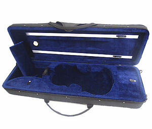 New-4-4-Enhanced-Violin-Case-VC-350BL-Free-U-S-Shipping