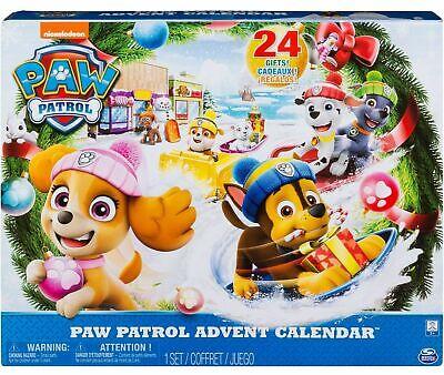 Nickelodeon Paw Patrol Advent Calendar Set 24 Gifts! NEW
