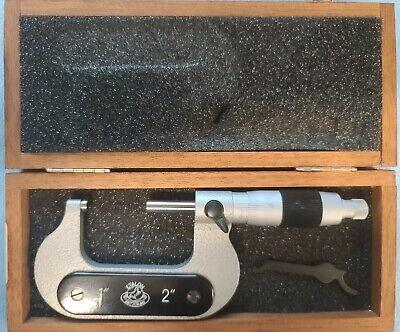Etalon Micrometer 1.0 To 2.0 .0001 Resolution