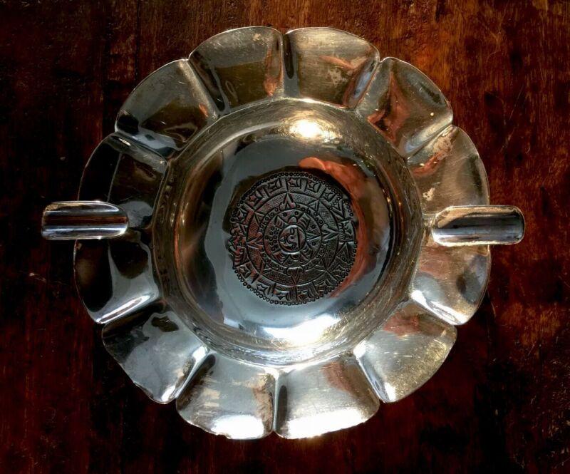 Sterling Silver Ashtray Peruvian