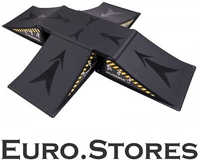 Hudora Skater Ramp Set for Skateboard, Waveboard, Skater Ramp 5pcs, 11118
