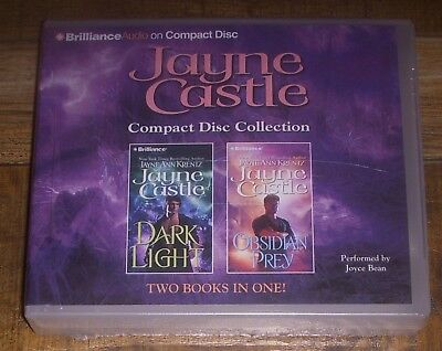 Jayne Castle Audio CD Collection DARK LIGHT~OBSIDIAN PREY Abridged 2-in-1 *NEW*