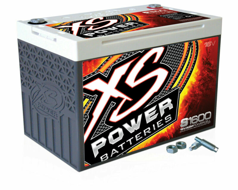 XS Power S1600 16 Volt AGM 2000 Amp Sealed Starting/Racing Battery/Power Cell
