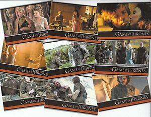 Game Of Thrones Season 4: 100 Card Basic/Base Set