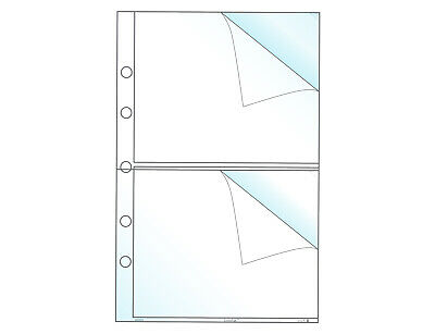 Page Protector Inserts - Mini Page Protector, Holds 5 x 4.25