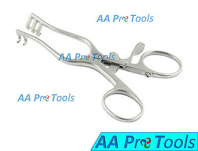 Aa Pro Weitlaner Retractor 4 Sharp 2x3 Prong Surgical Instruments