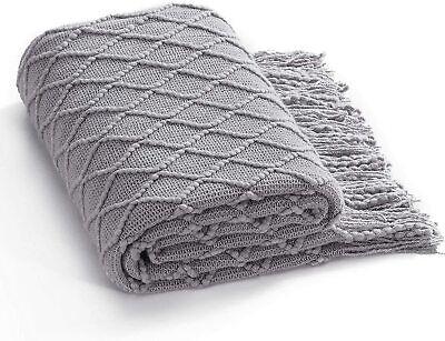 Throw for Sofa, Bed and Living Room - All Seasons Suitable for Women, Men and Ki
