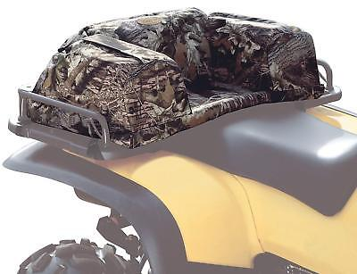 Atv Rack Bag - ATV Rear Seat Pad Cushion Passenger Storage Bag Camo Hunting Gear Luggage Rack