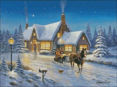 The Warmth Of The Season-Chart Needlework Craft DIY-Counted Cross Stitch Pattern - $10.99
