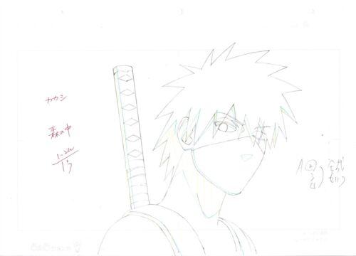 Japanese Anime Production Genga (Not Cel) Set of 10 - Hatake kakshi