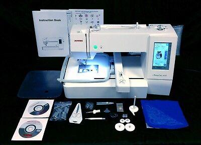 Janome Memory Craft 400E Computerized Embroidery Machine