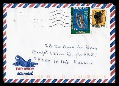 DR WHO 2000 BURKINA FASO OUAGADOUGOU AIRMAIL TO FRANCE  g16498