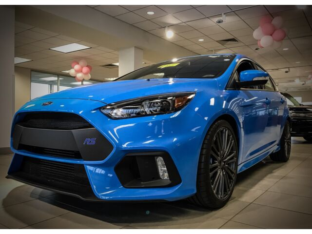 2016 ford focus rs new manual cd awd 600a. Black Bedroom Furniture Sets. Home Design Ideas