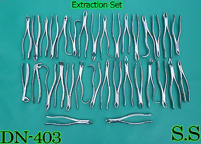 51 Extraction Set Dental Instruments Extracting Forcep Dn-403