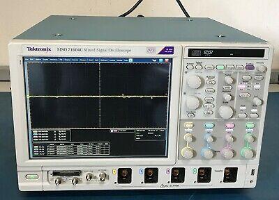 Tektronix Mso71604c 416-ch Digital 16ghz100 Gss Mixed Signal Oscilloscope