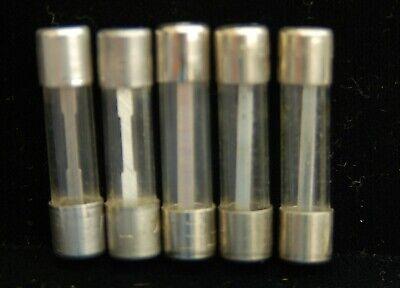 5 Pc Bussmann Buss Sfe 14 Amp 6x27mm Nos