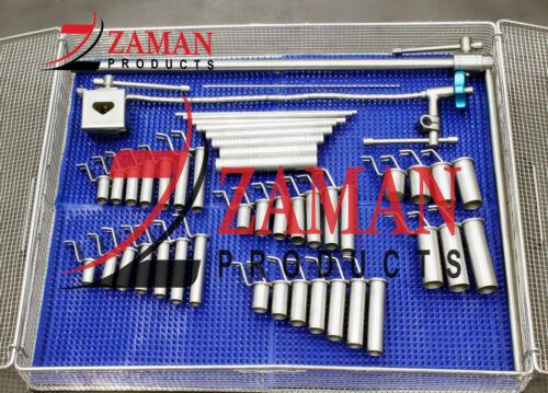 Mis Retractor System Tubular Retractors With Strilaztion Box Zaman Products