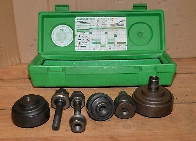 Greenlee Conduit Knockout Punch 2 2 14 3 3 12 Metal Working Tool Lot