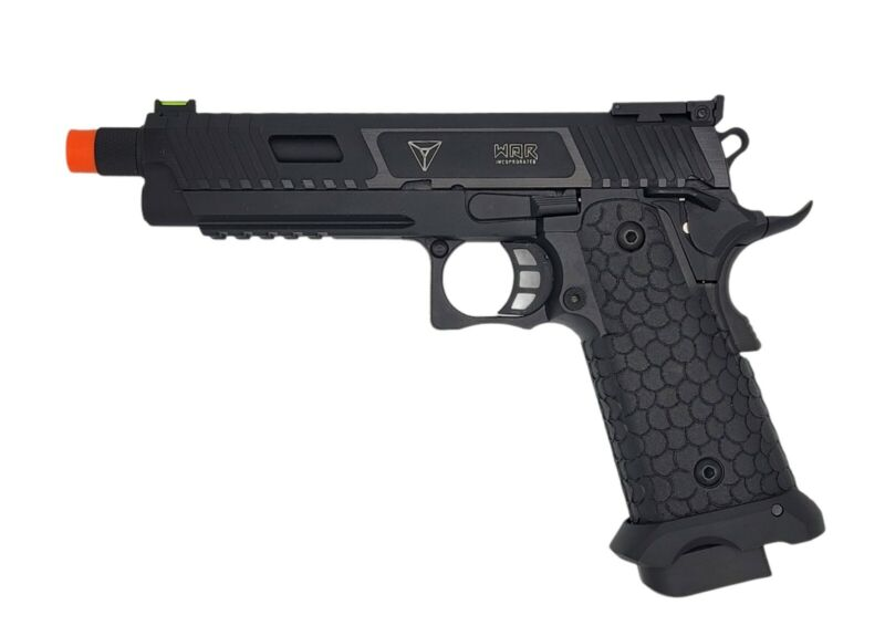 SRC green gas blowback airsoft Baba Yaga 1911 2011 hicapa pistol gbb