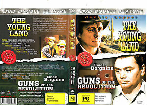The-Young-land-1959-Dennis-Hopper-Guns-of-The-Revolution-1971-Movie-DVD
