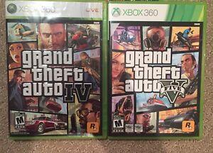 GTA 4 and GTA 5