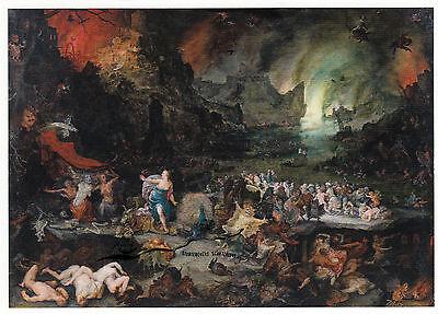Kunstkarte: Jan Brueghel d. Ä. - Juno in der Unterwelt