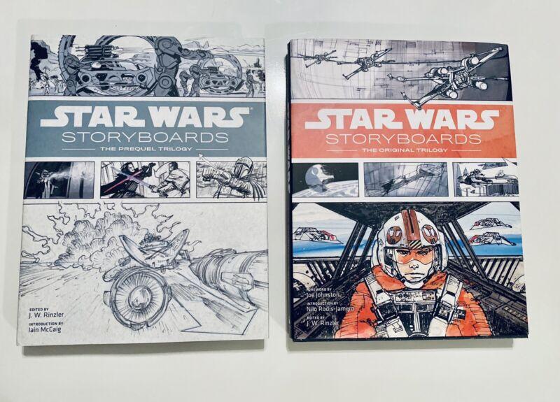 Star Wars Storyboards Book Sets The Original & Prequel Trilogy
