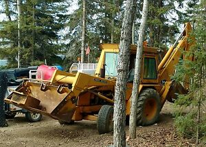 John Deere JD 510 Backhoe