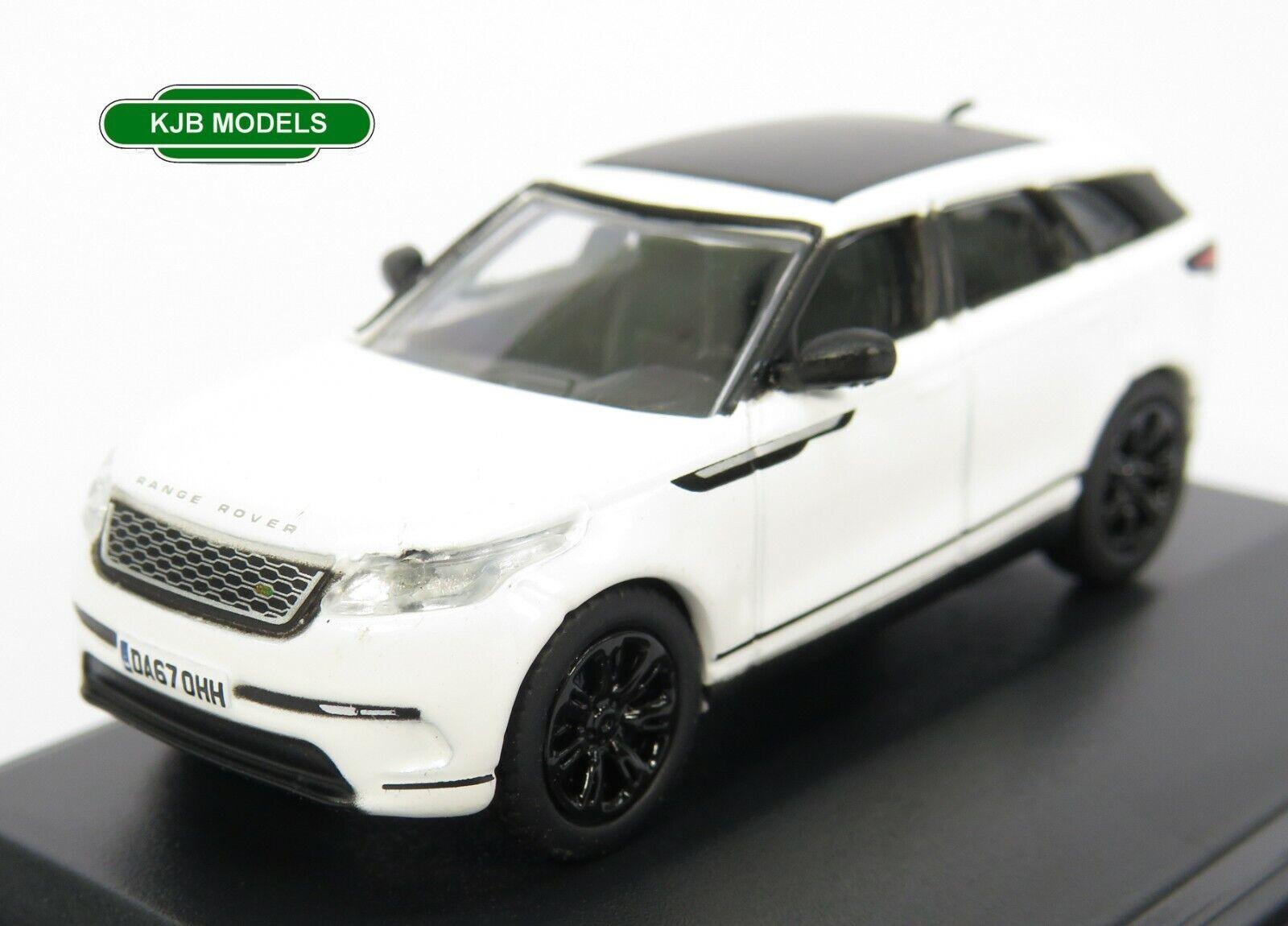 BNIB OO GAUGE OXFORD 1:76 76VEL002 Range Rover Velar SE Fuji White