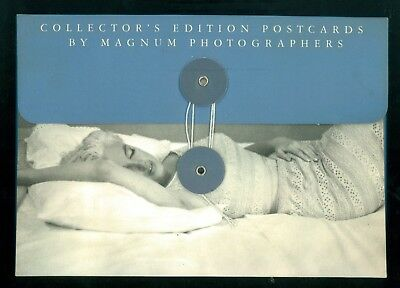 COLLECTOR'S EDITION POSTCARDS BY MAGNUM PHOTOGRAPHERS MARILYN MONROE FOTOGRAFIA