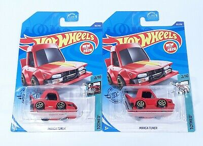 Hot Wheels 2020 Manga Tuner Lot of 2 New Model Fast Free Shipping