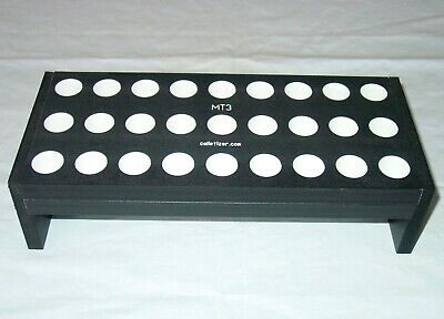 3 Morse Taper Shank Drill Bit Bench-top Storage Rack Stand Mt3 3mt Set Acm4