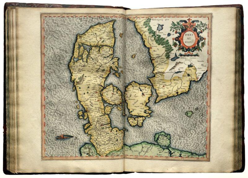 MERCATOR WORLD ATLAS 1595 HISTORY  107 old rare ORNATE  maps  DVD