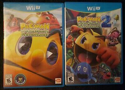 Pac-Man & The Ghostly Adventures 1 & 2 (Nintendo Wii U)