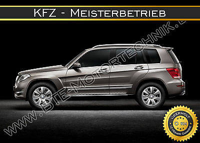 MERCEDES BENZ GLK320 CDI GLK350 CDI X204 MOTORÜBERHOLUNG REPARATUR AUSTAUSCH!!!